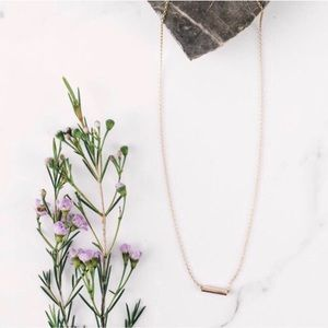 Minimalist Gold Necklace